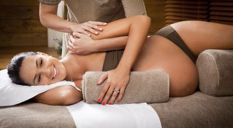 масаж бременност