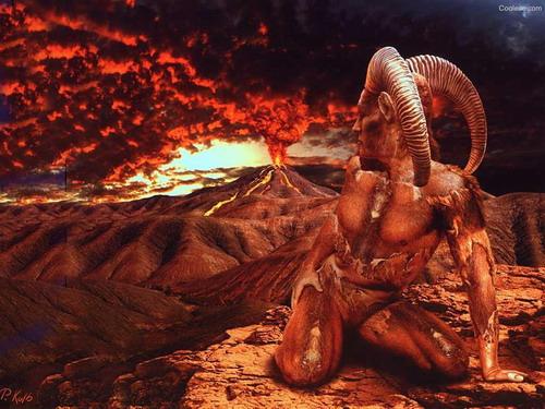 елемент огън овен