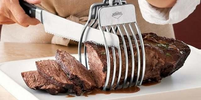 щипка за рязане на месо
